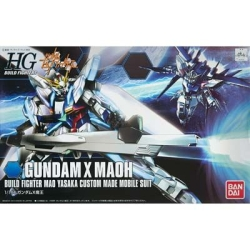 "Bandai #03 Gundam X Maoh ""Gundam Build Fighters"", Bandai HGBF"