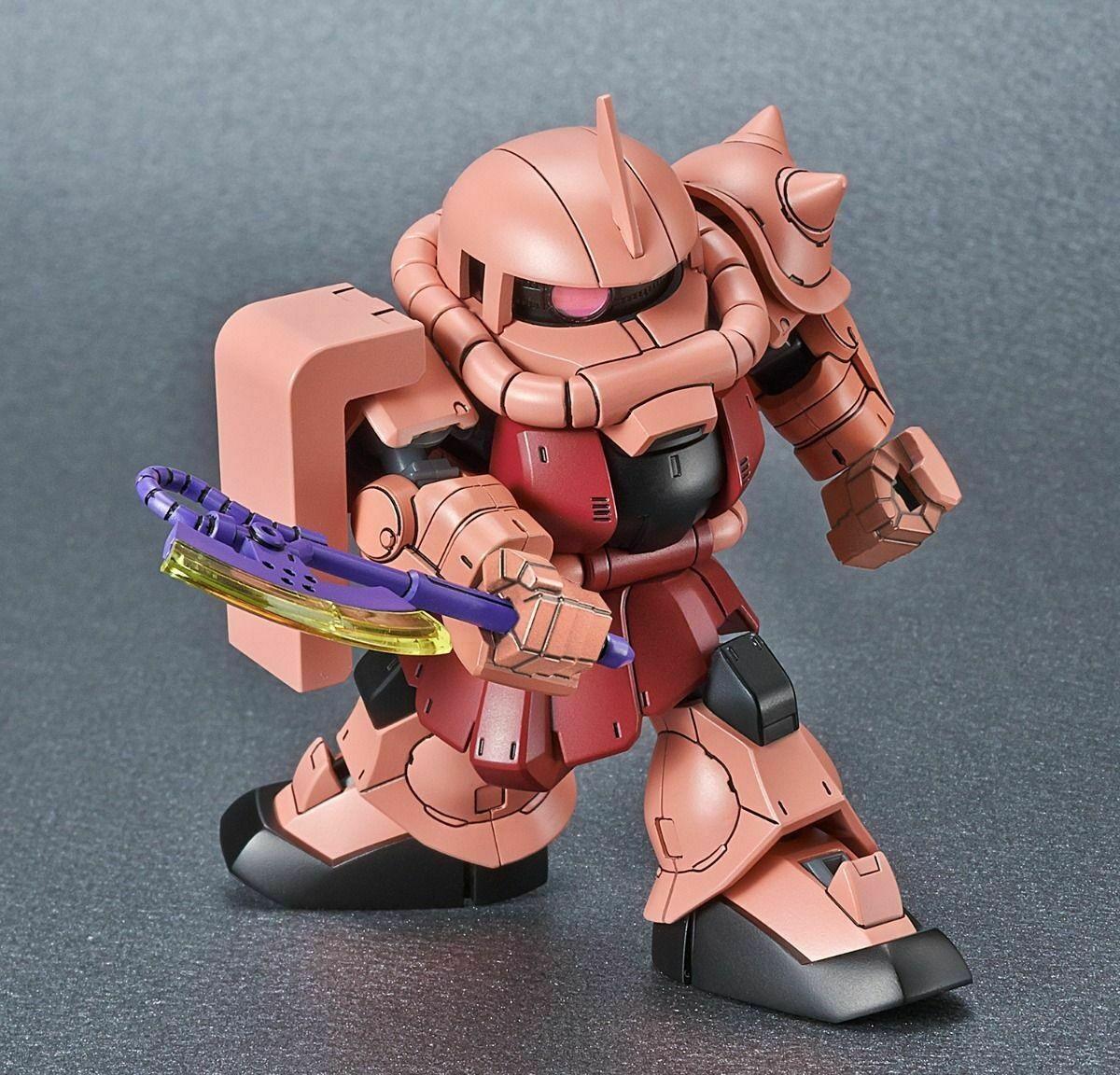 "Bandai #14 MS-06s Zaku II ""Mobile Suit Gundam"", Bandai Spirits SDCS"