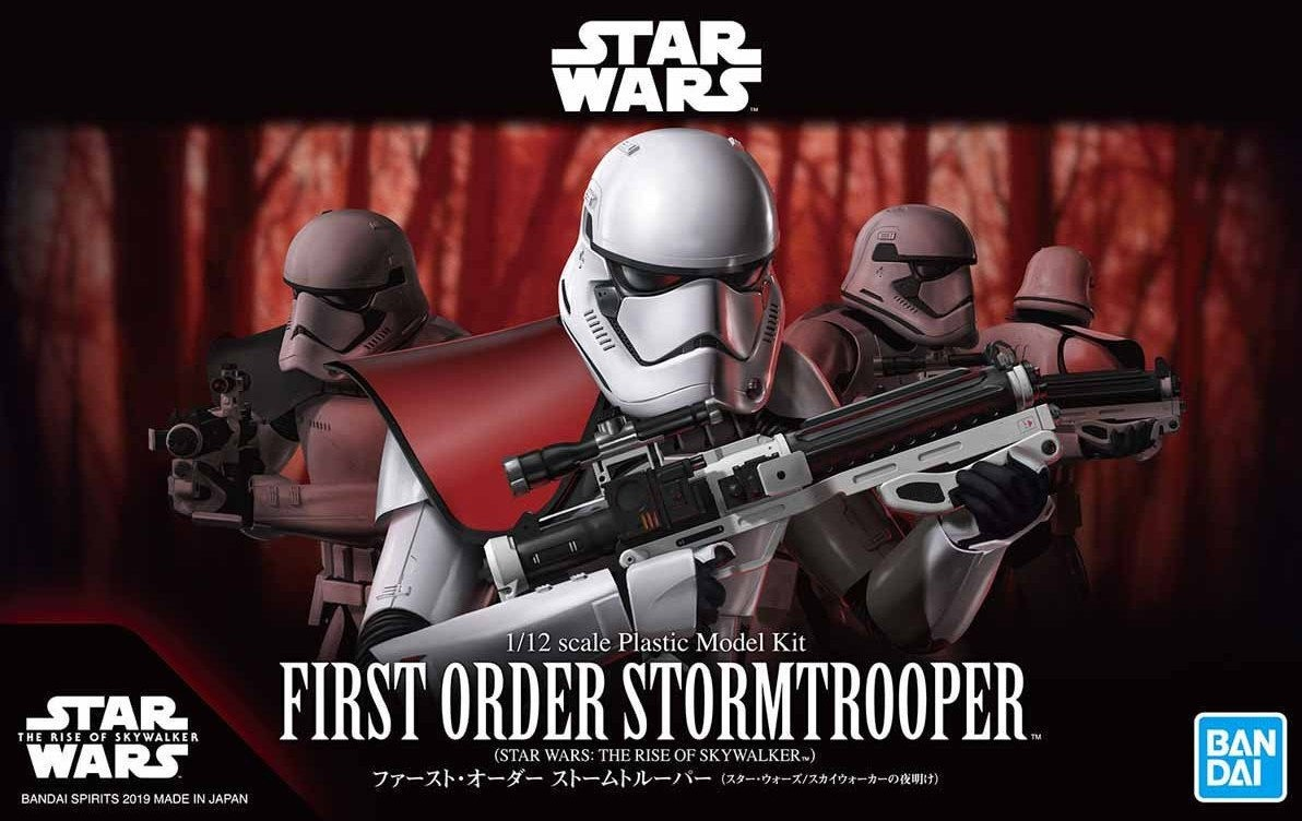 "Bandai First Order Stormtrooper (Rise of Skywalker Ver.) ""Star Wars"", Bandai Spirits Star Wars Plastic Model"