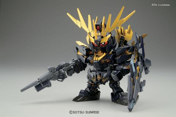 "Bandai BB#391 Unicorn Gundam 02 Banshee Norn ""Gundam UC"", ""Gundam Wing"", Bandai SD"