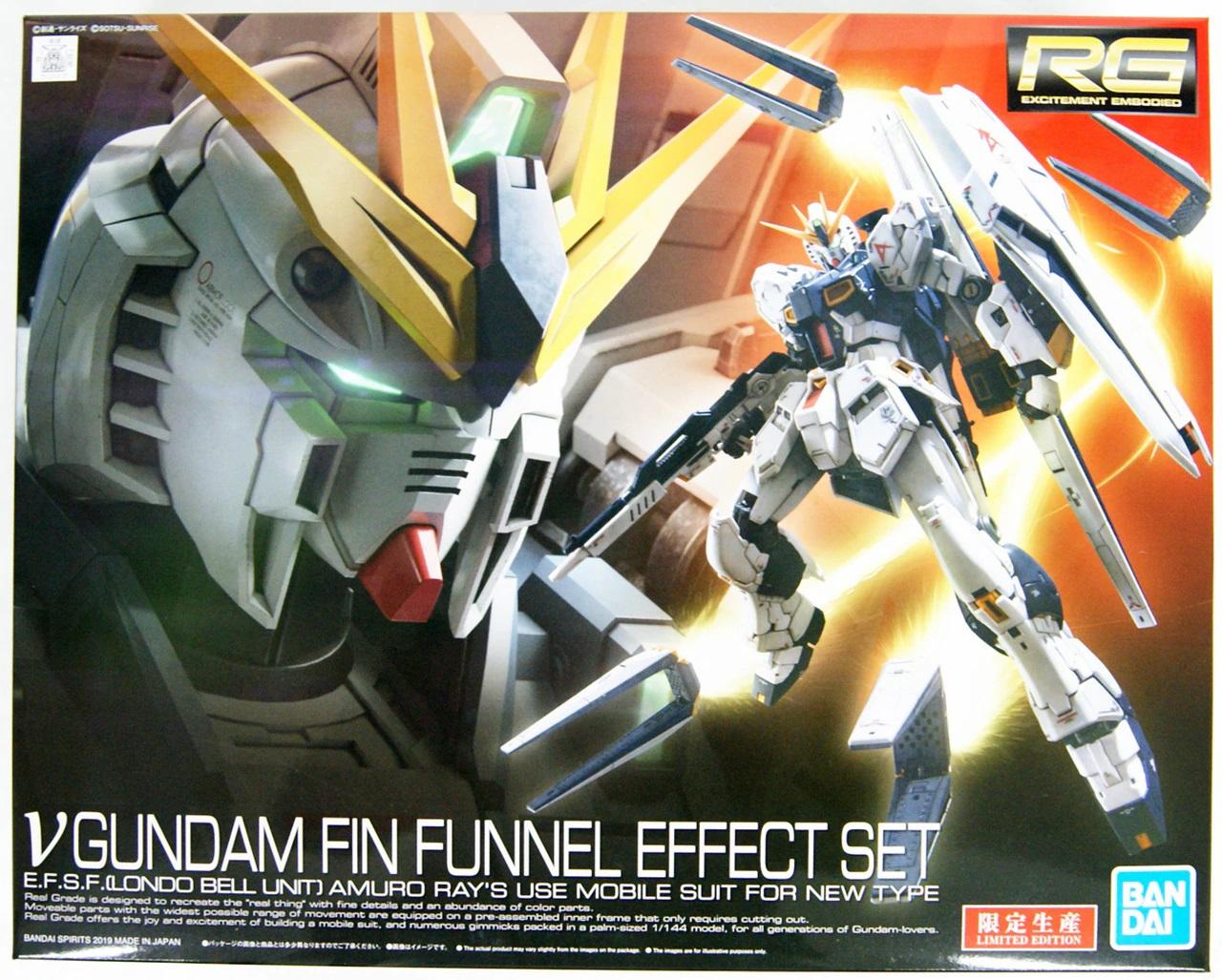 "Bandai Nu Gundam Fin Funnel Effect Set ""Char's Counterattack"", Bandai Spirits RG 1/144"