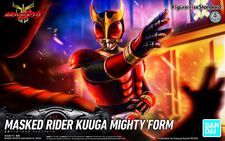 "Bandai Kamen Rider Kuuga Mighty Form ""Kamen Rider Kuuga"", Bandai Spirits Figure-rise Standard"