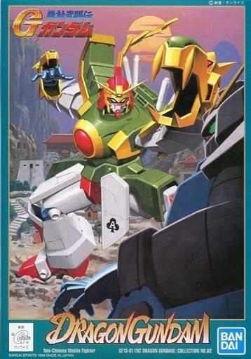 "Bandai G-02 Dragon ""G Gundam"", Bandai 1/144 G Gundam"