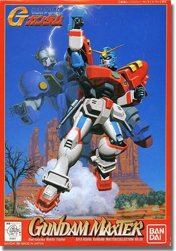 "Bandai G-03 Maxter Gundam ""G Gundam"", Bandai 1/144 G Gundam"