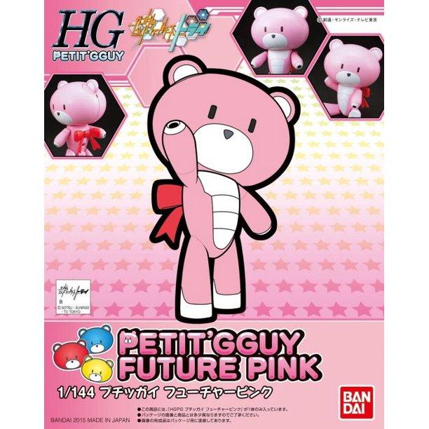 """Bandai #04 Petit�Gguy Future Pink """"Gundam Build Fighters Try"""", Bandai HGPG"""