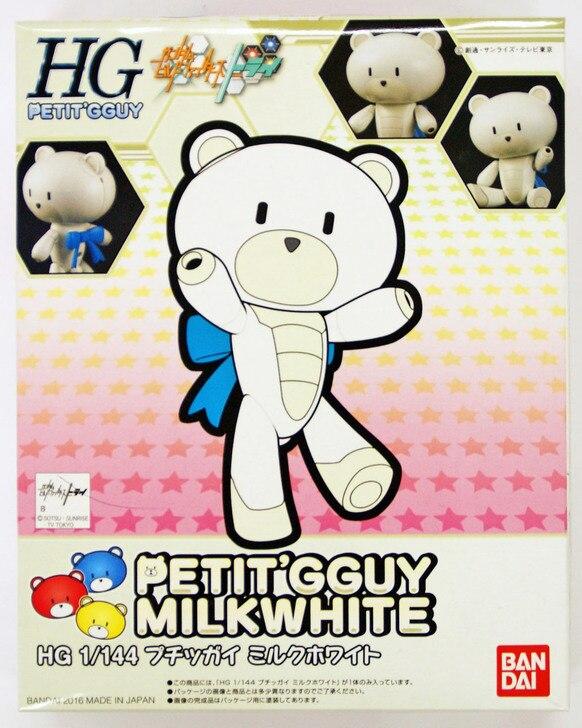 "Bandai #05 Petit�Gguy Milkwhite""Gundam Build Fighters Try"", Bandai HGPG 1/144"