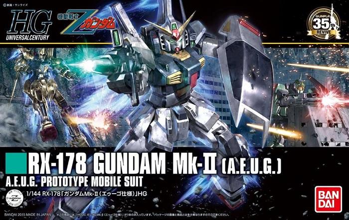 Bandai HGUC 1/144 RX-178 Gundam MK-II (AEUG)