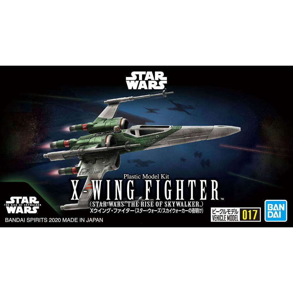"Bandai #17 X-Wing Fighter (Rise of Skywalker Ver.) ""Star Wars"", Bandai Spirits VM"
