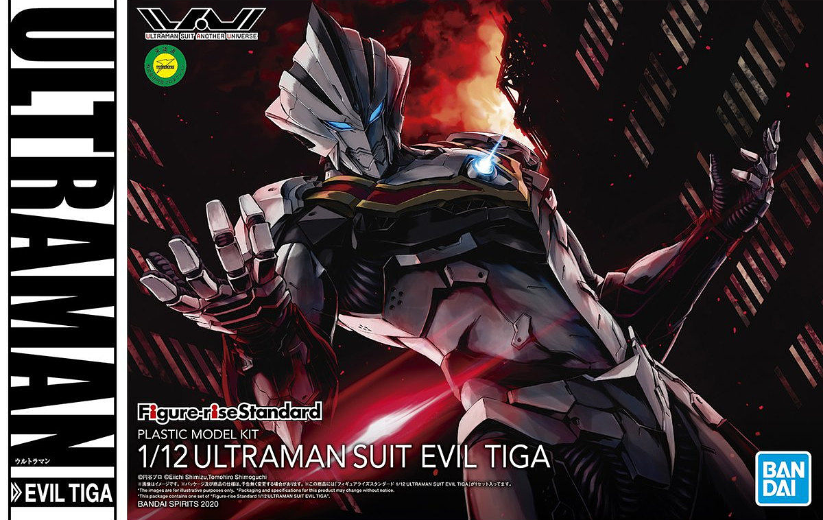 "Bandai Ultraman Suit Evil Tiga ""Ultraman Tiga"", Bandai Spirits Figure-rise Standard"