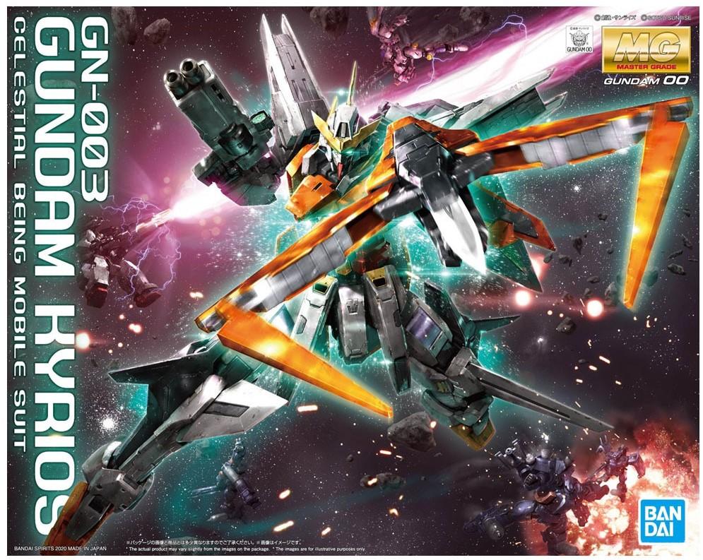 """Bandai Gundam Kyrios """"Gundam 00"""", Bandai Spirits MG 1/100"""