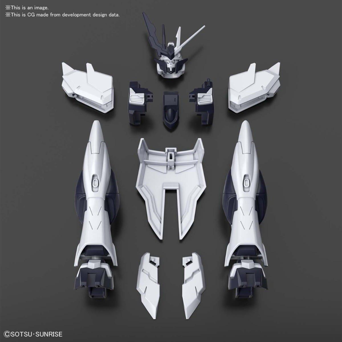 "Bandai #29 Fake Nu Unit ""Gundam Build Divers"", Bandai Spirits HG Build Divers 1/144"