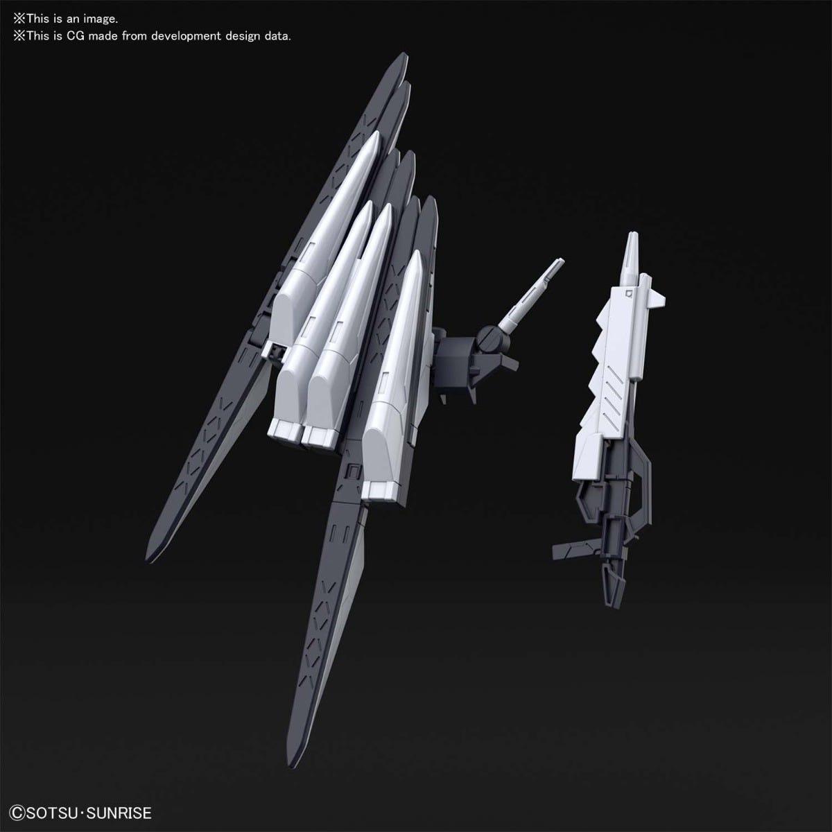 "Bandai #30 Fake Nu Weapons ""Gundam Build Divers"", Bandai Spirits HG Build Divers 1/144"