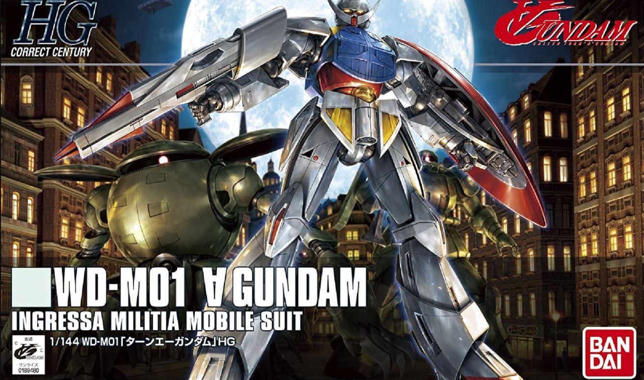 Bandai #177 Turn A Gundam, Bandai HGCC