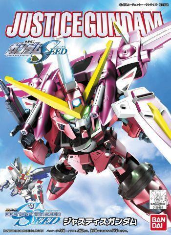 "Bandai SD BB#268 Justice Gundam ""Gundam SEED"""