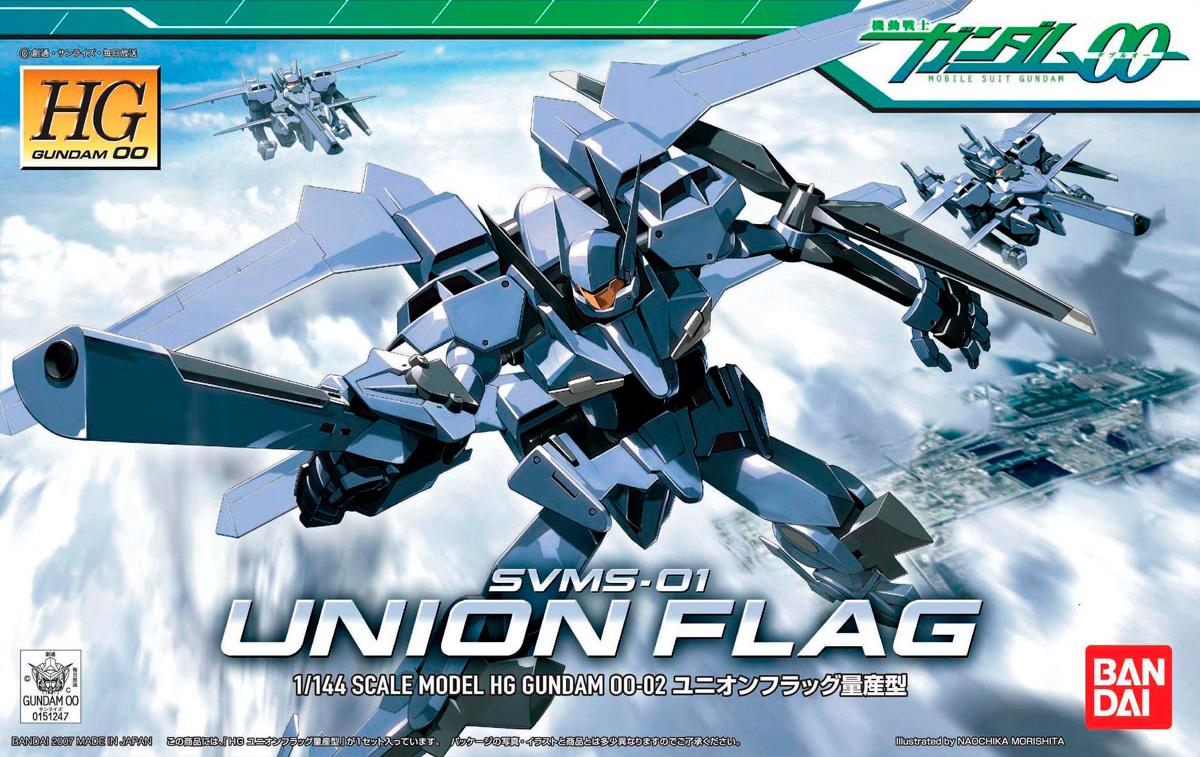 """Bandai #2 Union Flag """"Gundam 00"""", Bandai HG 00"""