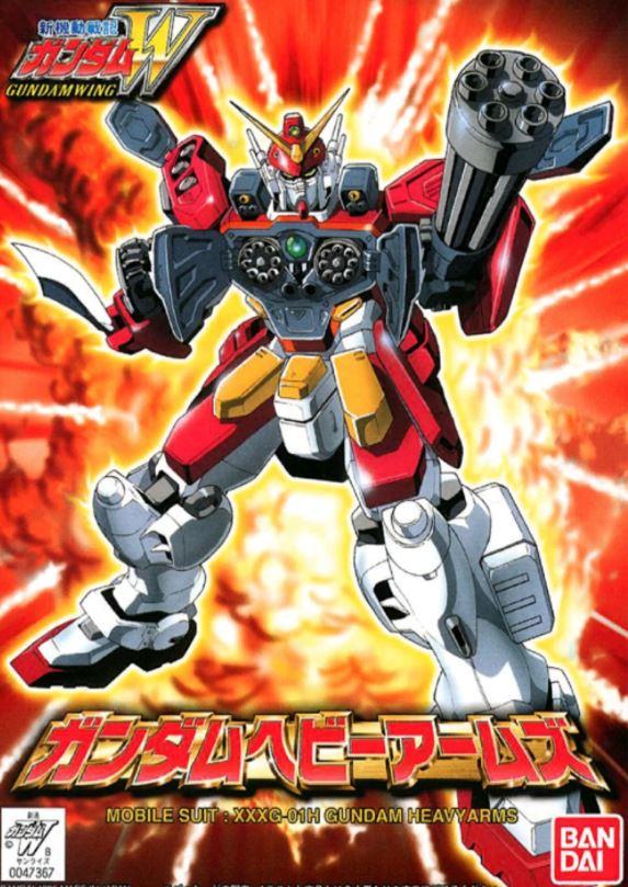 "Bandai #236 Gundam Heavyarms ""Gundam Wing"", Bandai Spirits HGAC 1/144"
