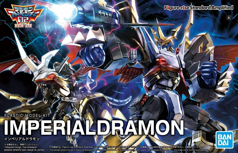 Bandai Spirits Figure-Rise Standard Digimon Imperialdramon Amplified