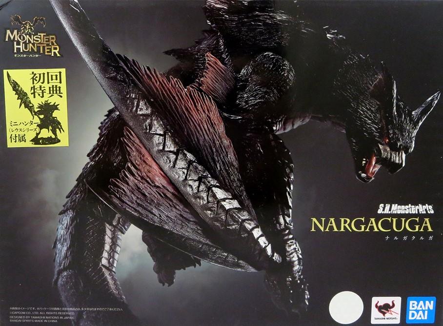 Bandai Tamashii Nations S.H. MonsterArts, Nargacuga Monster Hunter