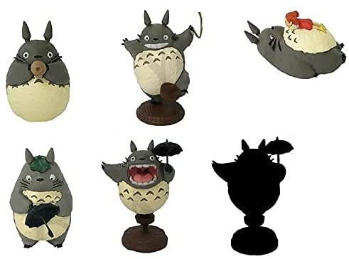 "Benelic So Many Poses! Totoro Version 2 Figurine Assorment ""My Neighbor Totoro"""