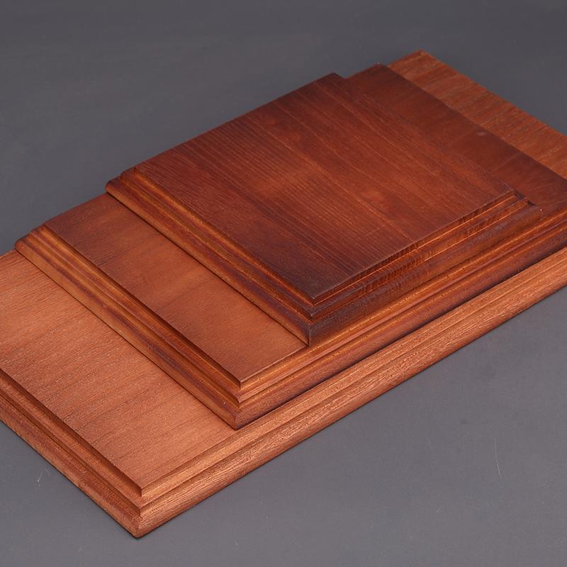 Border Model Wooden Stand for Model (27.5cmX13.5cm)