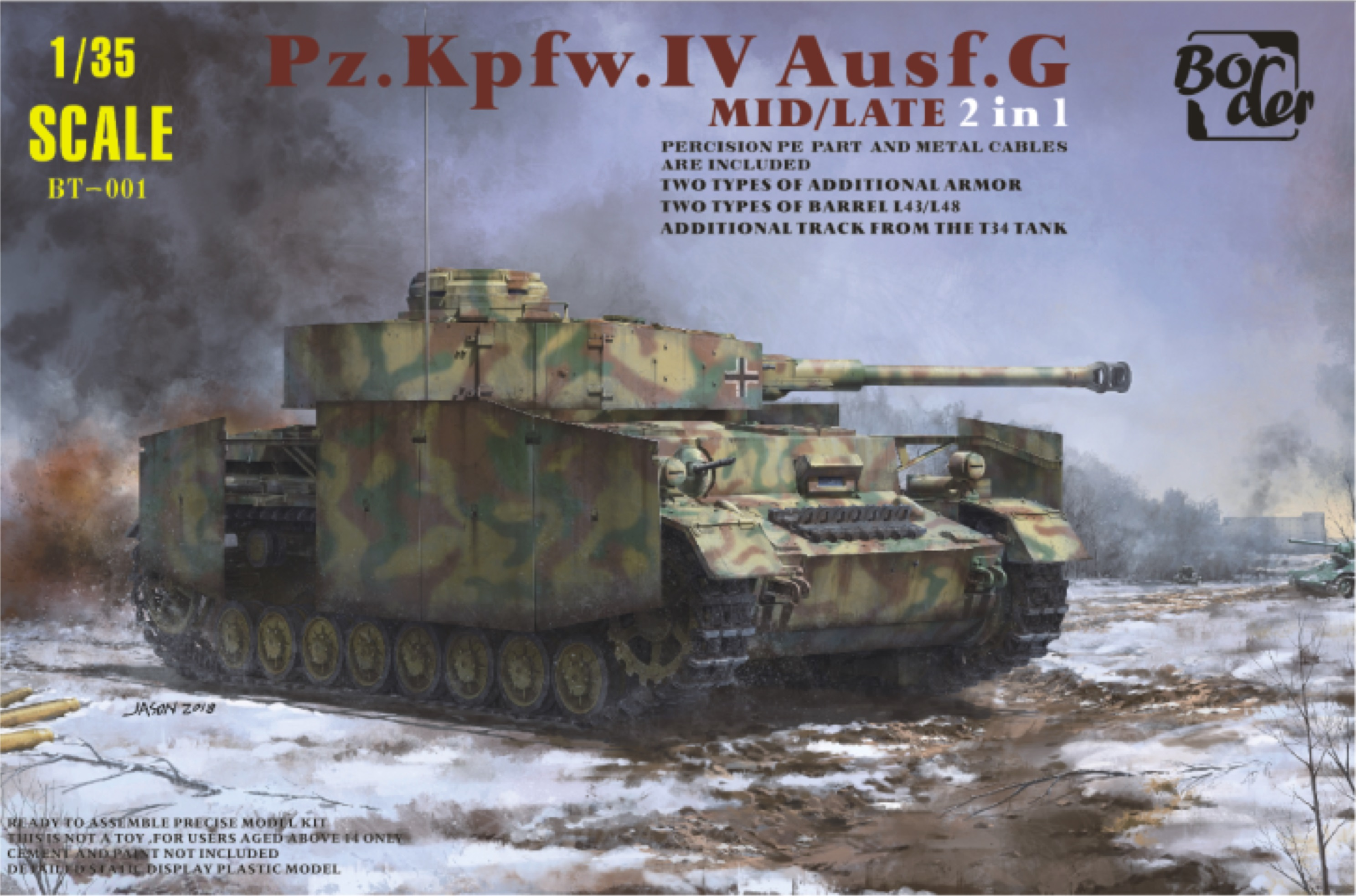 Border Model PANZER IV G LATE