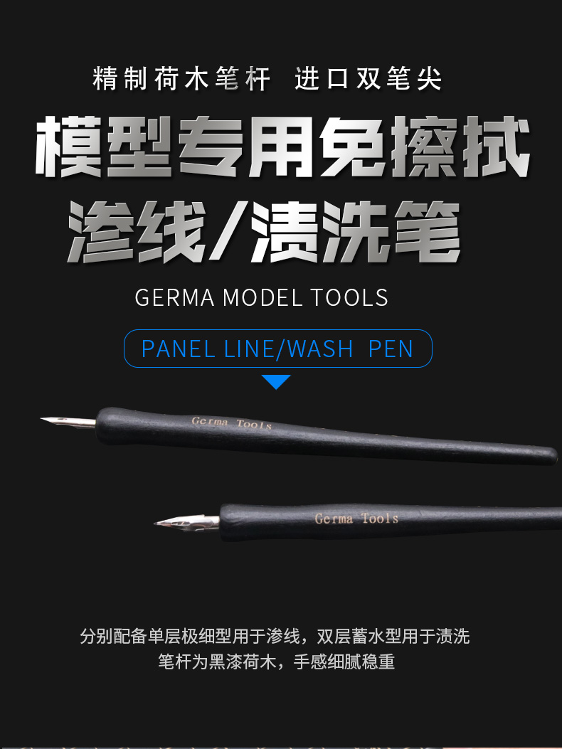 Border Model PANEL LINE/ WASH PEN