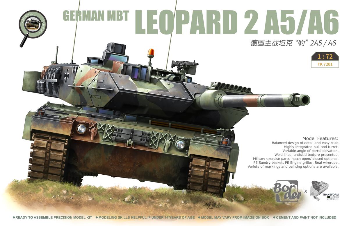 Border Model 1/72 LEOPARD 2 A5/A6 Tank