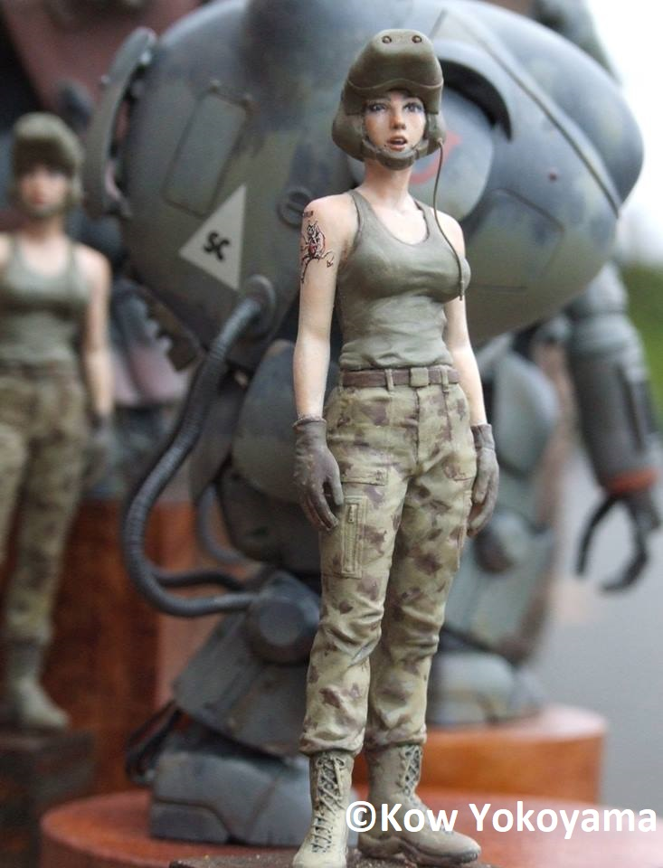 Brick Works Maschinen Krieger 1/20 Heavy Metal Cover Version Female Pilot