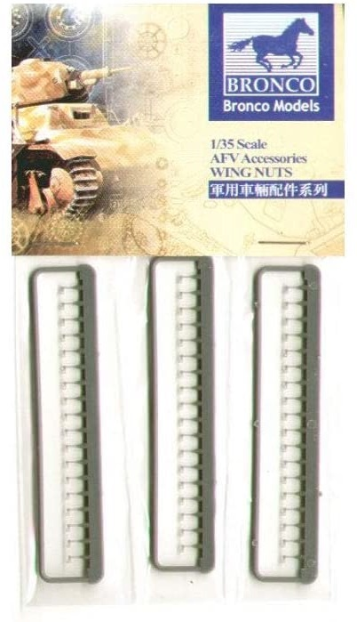 Bronco Models 1/35 Single Wing Nuts (German Version) AFV Accessories Kit