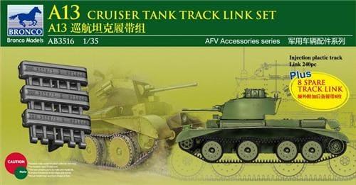 Bronco Models 1/35 A13 Cruiser Tank Track Link Set
