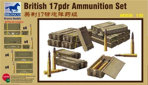 Bronco Models 1/35 British 17pdr Ammunition Set
