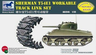 Bronco Models 1/35 Sherman T54E1 Workable Track Link Set