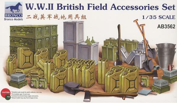 Bronco Models 1/35WWII British Field Accessories Set