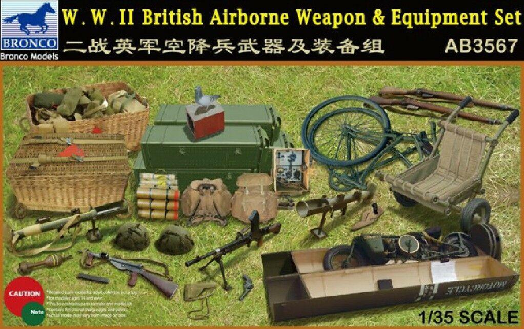 Bronco Models 1/35WWII British Airborne Weapon & Equipment Set