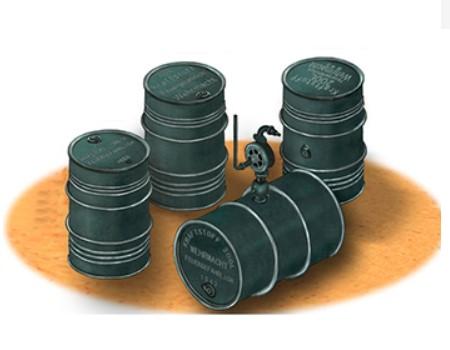 Bronco Models 1/35 GERMAN WWII 200L Oil Drums