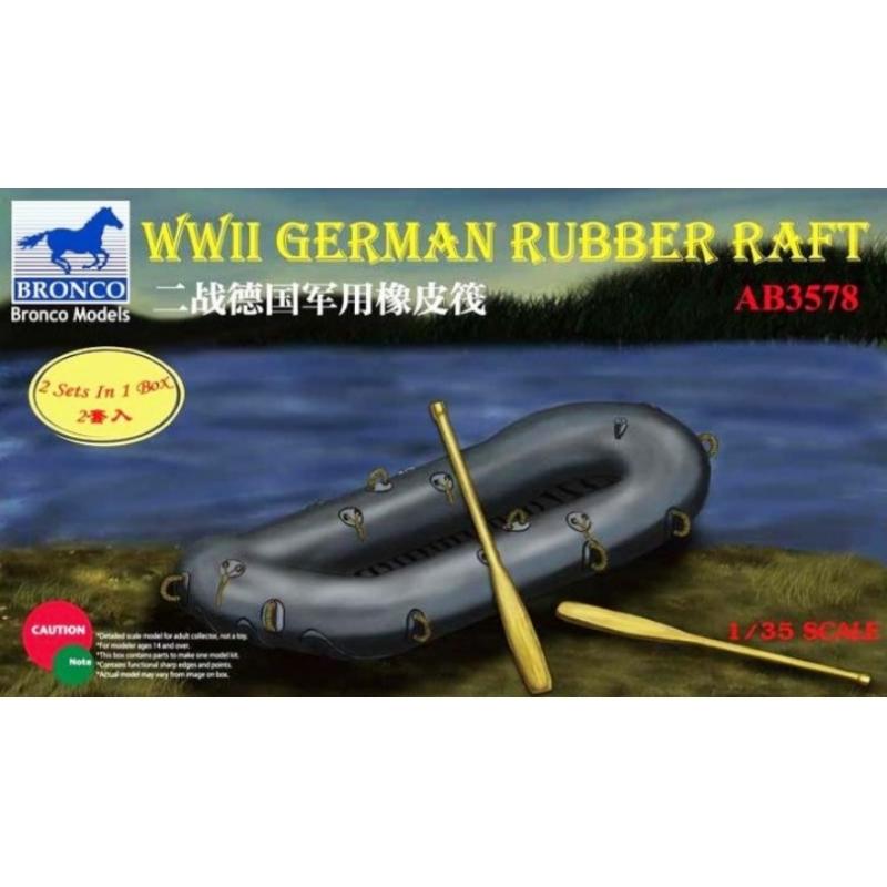Bronco Models 1/35WWII German Rubber Raft