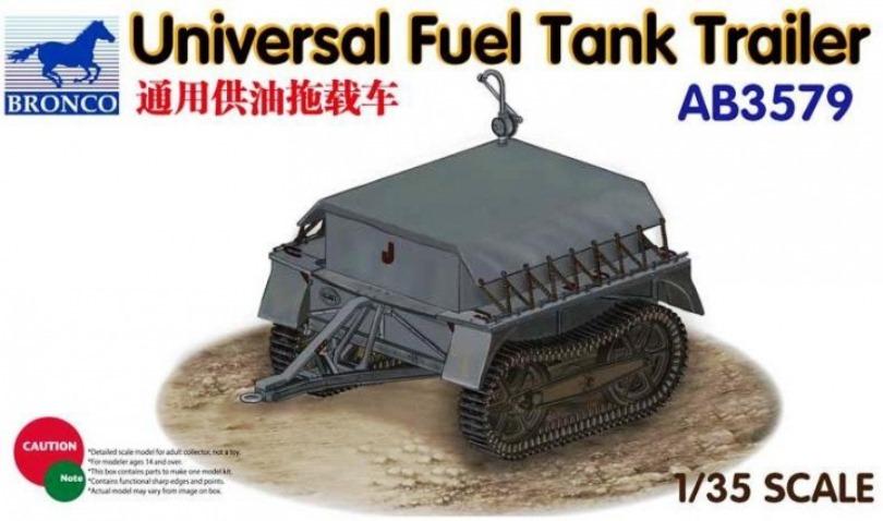 Bronco Models 1/35 Universal Fuel Tank Trailer