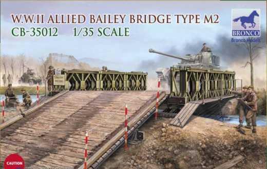 Bronco Models 1/35 WWII Allied Bailey Bridge Type M2