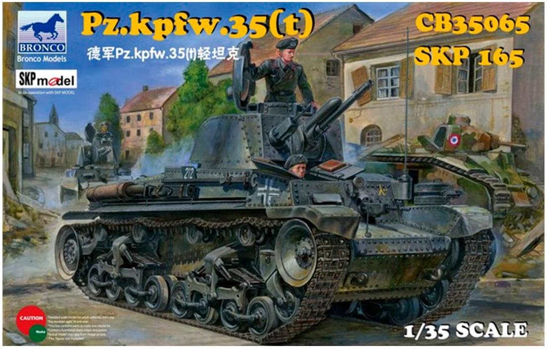 Bronco Models 1/35 German Pz.Kpfw. 35(t) Light Tank