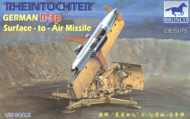 Bronco Models 1/35 'Rheintochter' German R-3p Surface-to-Air Missile