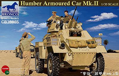 Bronco Models 1/35 Humber Armored Car Mk. II