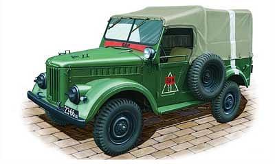 Bronco Models 1/35 Soviet GAZ 69(M) 4x4 Utility Truck