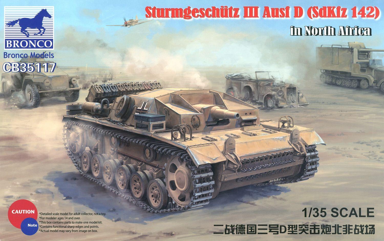 Bronco Models 1/35 Sturmgeschutz III Ausf D (SdKfz 142) in North Africa