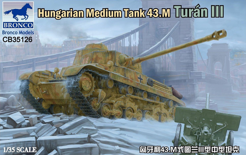 Bronco Models 1/35 Hungarian Medium Tank 43.M Turan III
