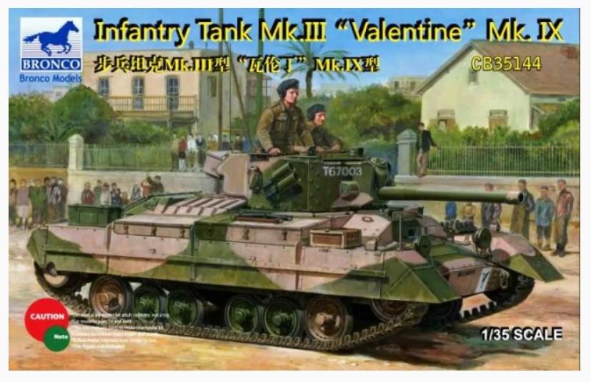 Bronco Models 1/35 Infantry Tank Mk. III Valentine Mk. IX