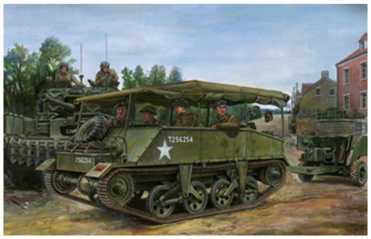 Bronco Models 1/35 Loyd Carrier No.2 Mk. II Anti Tank Gun Tractor