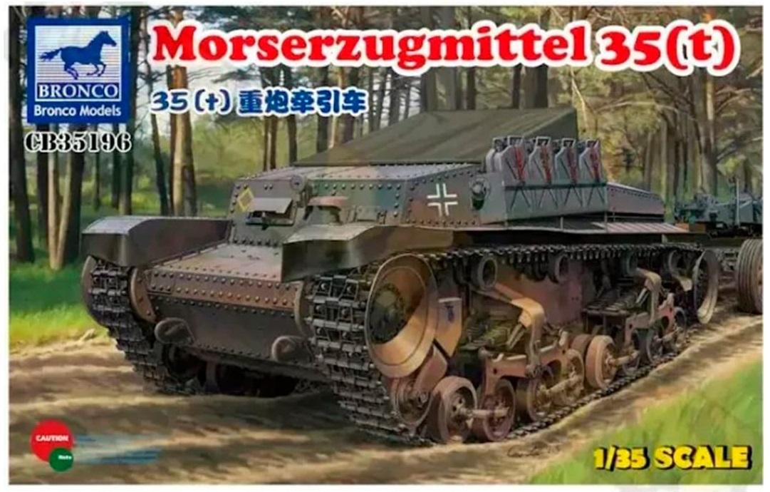 Bronco Models 1/35 Morserzugmittel 35(t) Military Tank
