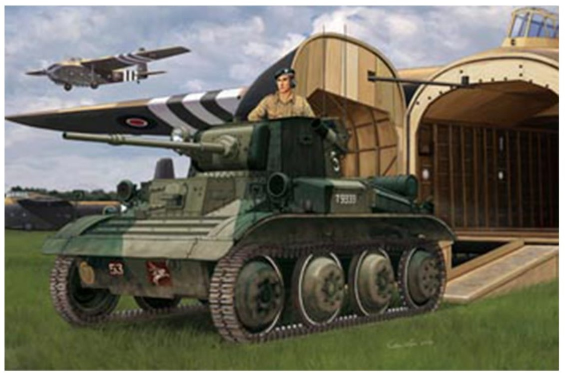 Bronco Models 1/35 A17 Vickers Tetrarch Mkl / MkICS Light Tank