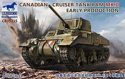 Bronco Models 1/35 Canadian Cruiser Tank Ram MK.II Early Production