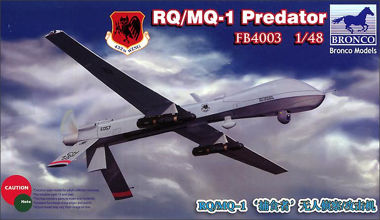Bronco Models 1/48 RQ/MQ-1 Predator Aircraft